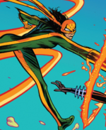Iron Fist (Earth-18138) from Cosmic Ghost Rider Vol 1 3 001