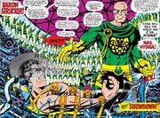 Nick Fury and Baron Strucker meet again in Strange Tales Vol 1 156