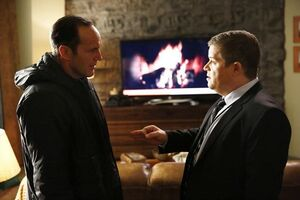 Phillip Coulson (Earth-199999) and Eric Koenig (Earth-199999) from Marvel's Agents of S.H.I.E.L.D. Season 1 18 001