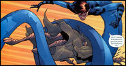 Reed Richards (Earth-1610) and Victor Van Damme (Earth-1610) from Ultimate Fantastic Four Vol 1 12 0001