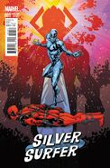 Silver Surfer Vol 8 1 Deadpool Variant