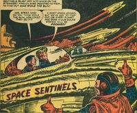 Space Sentinels (Earth-5391) from Spaceman Vol 1 2 0001