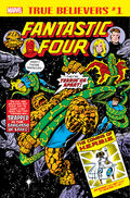 True Believers Fantastic Four - The Coming of H.E.R.B.I.E. Vol 1 1