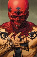 Ultimate Comics Avengers Vol 1 1 Textless Red Skull Variant