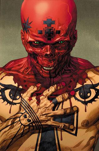 File:Ultimate Comics Avengers Vol 1 1 Textless Red Skull Variant.jpg