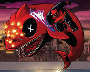 Wade Wilson (Earth-Unknown) from Deadpool Kills Deadpool Vol 1 4 0021