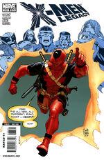 X-Men Legacy Vol 1 233 Deadpool Variant