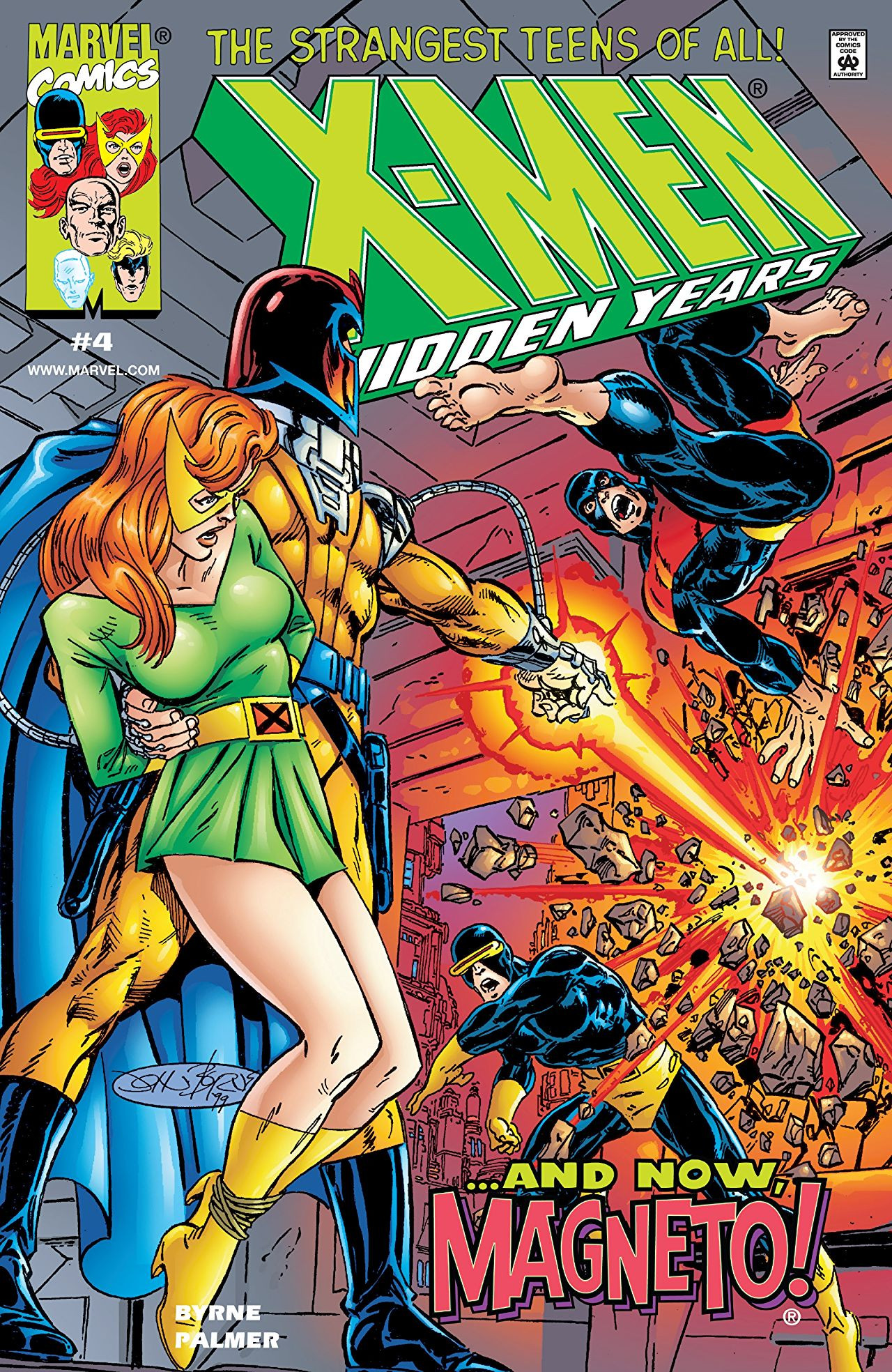 X-Men The Hidden Years Vol 1 4