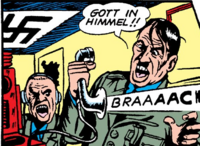 Adolf Hitler (Earth-616) from All Winners Comics Vol 1 1 001