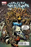 Amazing Spider-Man Vol 3 9 Rocket Raccoon & Groot Variant