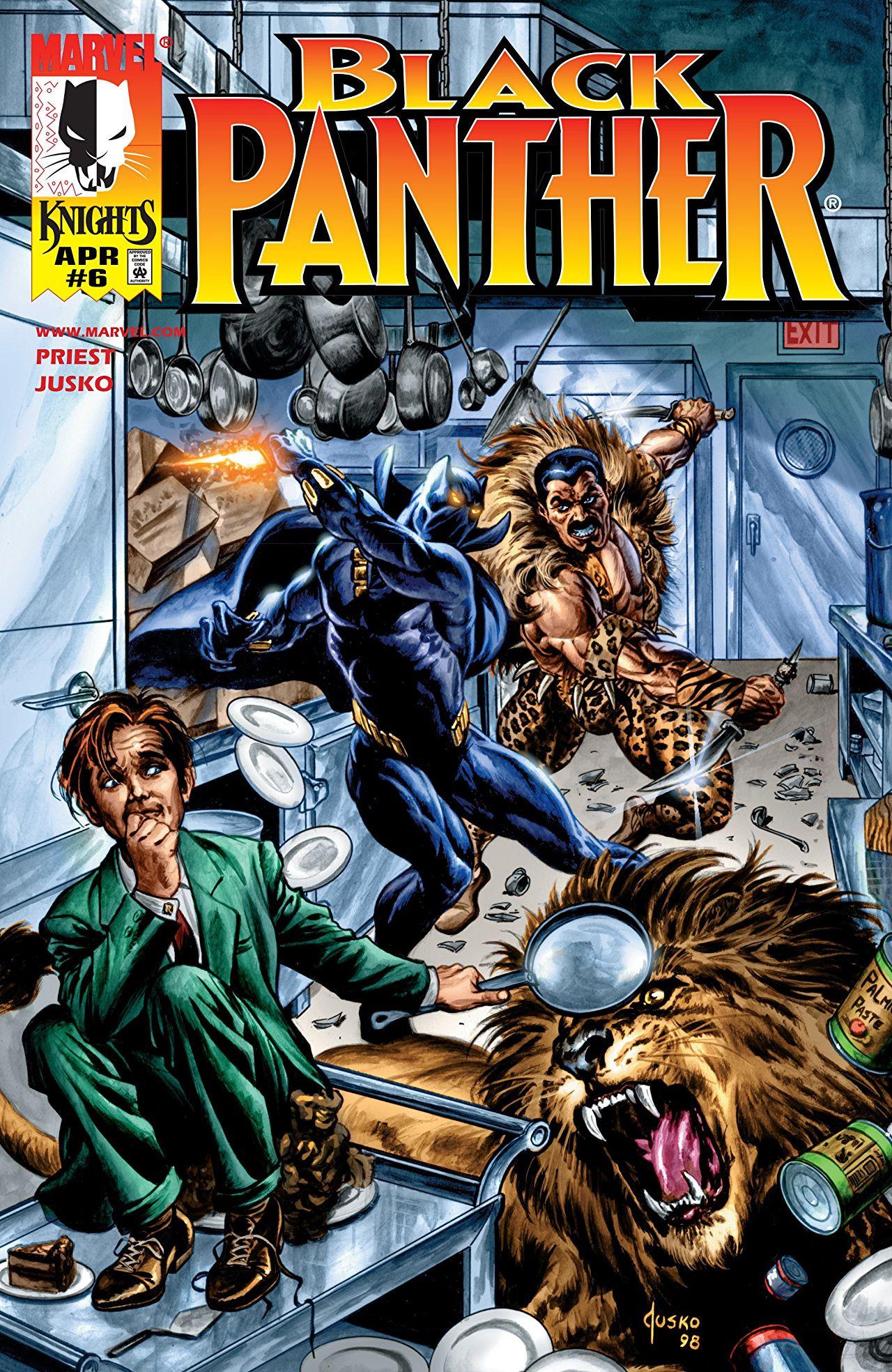 Resultado de imagem para kraven and black panther