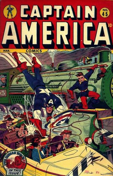 Captain America Comics Vol 1 45