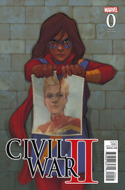 Civil War II Vol 1 0 Ms. Marvel Variant