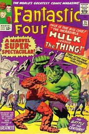 Fantastic Four Vol 1 25 Vintage