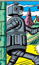 Gnorr's Moon-Robots from Marvel Mystery Comics Vol 1 13 0001