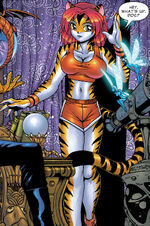 Greer Nelson (Earth-2301) from Marvel Mangaverse Vol 1 4 0001