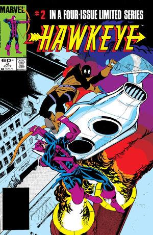 Hawkeye Vol 1 2