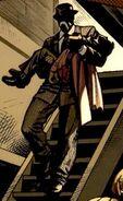 Jack O'Lantern (Crime-Master's) (Earth-616) and Bennett Brant (Earth-616) from Venom Vol 2 11 0001