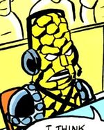 Korg (Earth-66209) from What If? Newer Fantastic Four Vol 1 1 0001