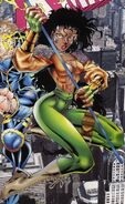 Melody Jacobs (Earth-616) from X-Man Vol 1 21 cover