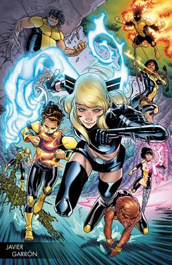 New Mutants Vol 4 1 Young Guns Variant