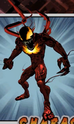 Peter Parker and Carnage (Symbiote) (Earth-TRN005) from Ultimate Spider-Man (video game) 001