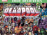 True Believers: The Wedding of Deadpool Vol 1