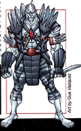 Xraven (Earth-616) from X-Men Earth's Mutant Heroes Vol 1 1