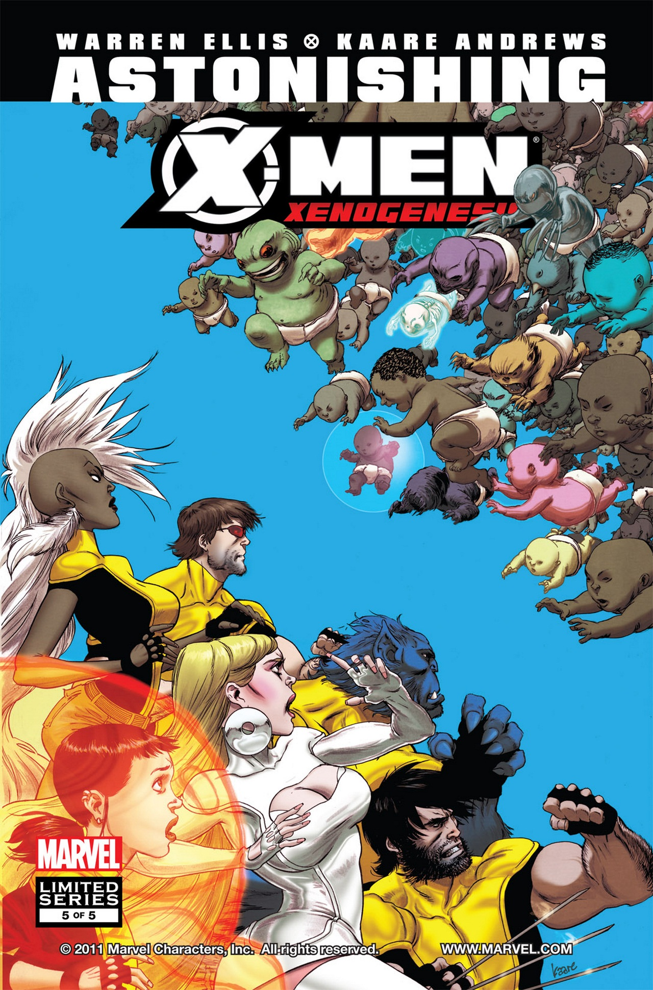 Astonishing X-Men Xenogenesis Vol 1 5