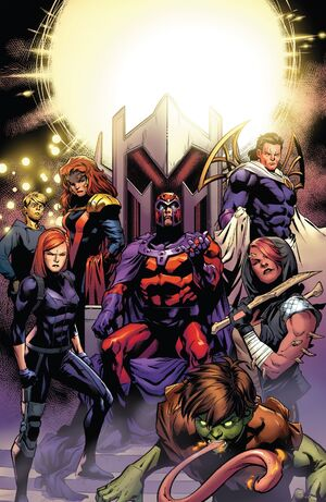 Brotherhood of Evil Mutants (Earth-616) from X-Men Blue Vol 1 34 001