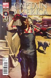 Captain America Vol 1 619 I Am Captain America Variant