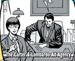Carter & Lombardo Ad Agency (Earth-616) from Spider-Man Human Torch Vol 1 3 0001