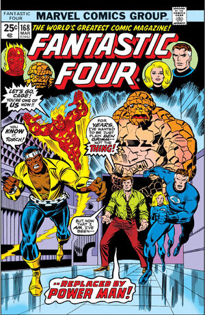 Fantastic Four Vol 1 168