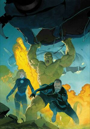 Fantastic Four Vol 6 1 Virgin Variant
