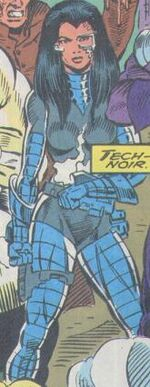 Gale Cameron (Earth-616) from Alpha Flight Vol 1 129 001