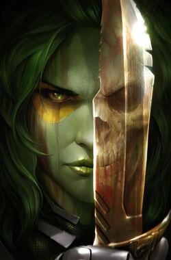 Gamora Vol 1 2 Mattina Variant Textless