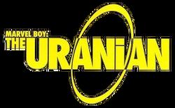 Marvel Boy The Uranian Vol 1 Logo