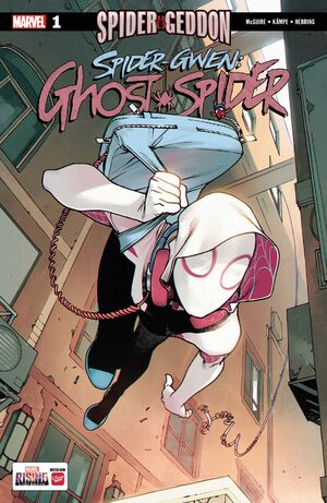 Spider-Gwen Ghost-Spider Vol 1 1