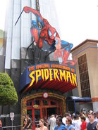 The Amazing Adventures of Spiderman Entrance Islands of Adventure