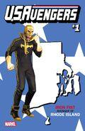 U.S.Avengers Vol 1 1 Rhode Island Variant