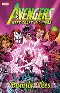 West Coast Avengers Family Ties TPB Vol 1 1