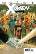 X-Men Gold Vol 2 30