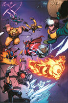 X-Men Vol 4 1 50th Anniversary Variant Textless