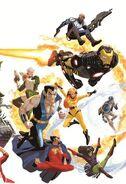 Avengers Vol 5 20 50 Years of Avengers Variant Textless