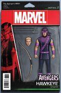 Avengers Vol 7 3.1 Action Figure Variant