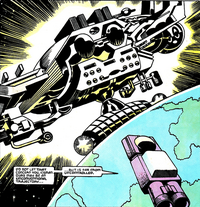Celestial Mothership from X-Factor Vol 1 43