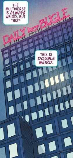 Daily Bugle (Earth-3109) from Spider-Gwen Ghost-Spider Vol 1 3