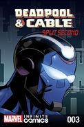 Deadpool & Cable Split Second Infinite Comic Vol 1 3