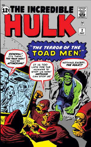 Incredible Hulk Vol 1 2