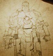Iron Man Armor MK I (Earth-199999) from Iron Man (film) 001